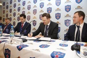 """Петербургский бренд """"Невское"""" и хоккейный клуб СКА подписали соглашение о сотрудничестве"""