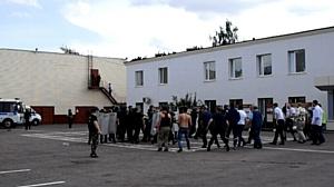 Зеленоградские полицейские отработали тактику действий при пресечении массовых беспорядков