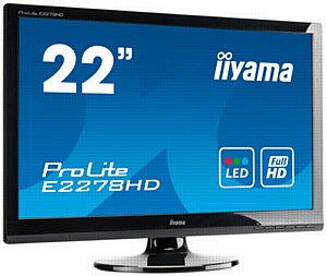 ������������� 22-�������� Full HD ������� iiyama ProLite E2278HD