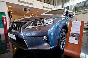 Компания «Аркан» побывала на «Lexus Weekend»