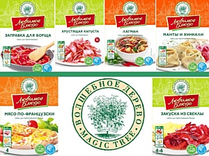 ТМ «Волшебное дерево» представила новые кулинарные смеси серии «Любимое блюдо»