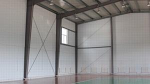 Новый спортивный центр из металлоконструкций Lindab в Забайкальском крае
