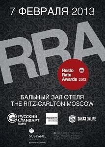 Resto Rate Awards 2012