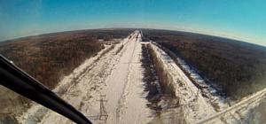 МЭС Северо-Запада проинспектировали на вертолете более 600 км линий электропередачи
