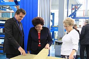 Правительственная делегация посетила завод «Теплант-Иваново»