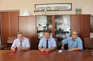 Подписание соглашения о стратегическом партнерстве между ННГАСУ и НП СРО «ОВВС»