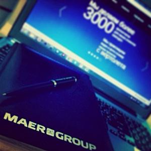 У компании Maer Group появились свои странички в Twitter и Instagram