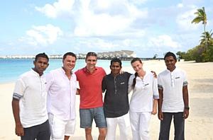 Viceroy Maldives принимает известного русского гонщика, участника Формулы 1 – Виталия Петрова