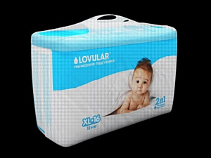 Подгузники и пеленки Lovular – лучшее предложение на современном рынке гигиенической продукции