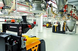 Jungheinrich представил новую беспилотную систему на LogiMAT 2013