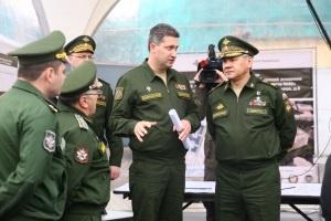 Министр обороны России в рамках визита в Санкт-Петербург посетил готовые и строящиеся объекты ВМА