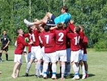 Команда «Курскэнерго» по футболу выиграла чемпионат Курской области