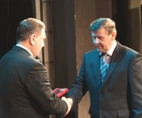Cотруднику Курскэнерго вручена медаль ордена «За заслуги перед Отечеством»