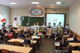 Липецкие энергетики провели урок электробезопасности в гимназии № 12 г. Липецка