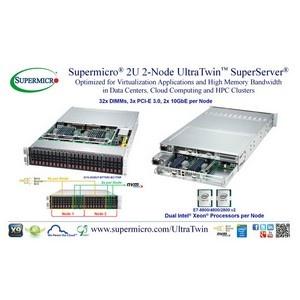 �������� Supermicro� ������������ ����� 2U 2-������� UltraTwin�
