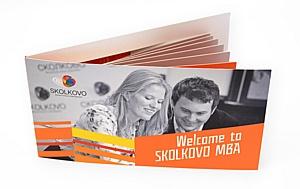 CreativePromo сделала креативные буклеты для Skolkovo