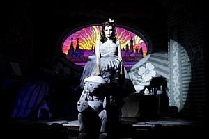Музыкальная постановка сияние в Chateau de Fantomas