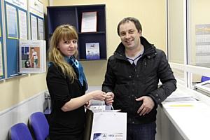В Брянскэнерго встретили 55-тысячного клиента