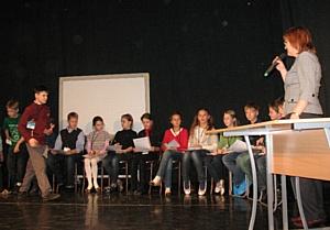 Презентация книги «Педагогика искусства» на сцене Детского музыкального театра