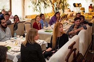 И.Янковский, учредитель Фонда «Инициатива во имя будущего», встретился с участниками КМКФ Молодость