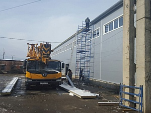 ГК «Волховец» строит новый склад в Майкопе