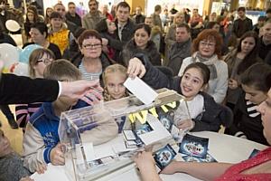 «Ночь шопинга» в ТРЦ «Торговый Квартал» в Домодедово посетило более 20 тыс. человек