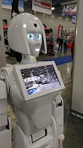 Робот Kiki - новый привлекательный рекламный инструмент