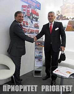 Приоритет стал участником выставки InterSchutz-2015 мирового уровня