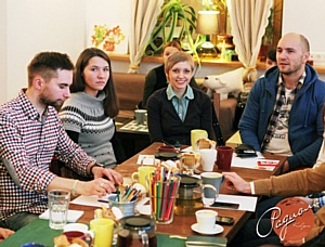 Состоялась первая встреча антикафе Санкт-Петербурга