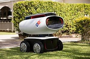 Робот-курьер доставит первую пиццу в Новой Зеландии