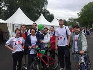 Сотрудники ГК «Метро» пробежали зелёный марафон вместе со Сбербанком России
