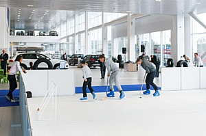 500 дней до Сочи: Олимпийский заезд Volkswagen в автосалонах Авторусь