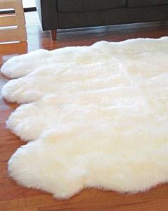 Элитные ковры из овчины