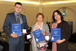 Корпорация «Союз» стала трехкратным лауреатом конкурса «Серебряная капля-2014»