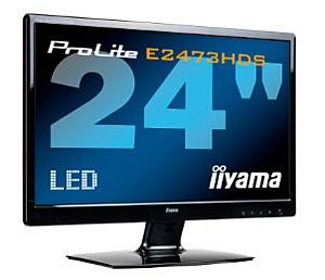 24-дюймовый монитор iiyama ProLite E2473HDS с LED-подсветкой