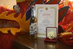 Качество  нового сорта «Dragon Ice»  подтверждено золотой медалью Хабаровской международной ярмарки