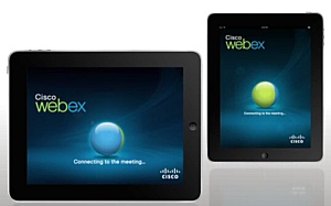 C����� web-������������ Cisco WebEx �������� ��� ������� � ������.