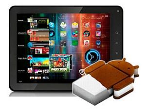 Android 4.0 на планшете Prestigio PMP5080B