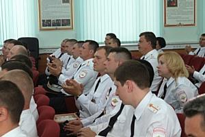 В Зеленограде поздравили сотрудников ГИБДД с профессиональным праздником
