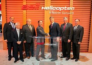 Heli-Expo 2014: Abu Dhabi Aviation ���������� 10 ���������� Bell 525 Relentless