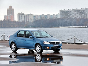 ������������ ����� Renault Logan Arctique ��� � ���������� ����Ļ