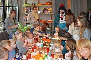 Новогодний праздник для детей с целиакией