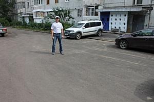 «Дорогу как после бомбежки» во дворе ветерана в Сыктывкаре привели в порядок после вмешательства ОНФ