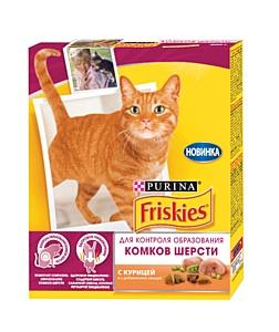 Новинка Friskies для контроля образования комочков шерсти