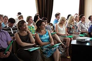 В Оренбурге прошел семинар Евгения Фролова, владельца Visotsky Consulting Moscow.