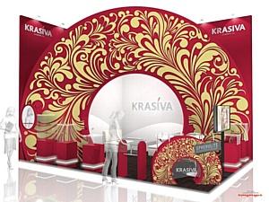 ����������� ������������� ������������� ����� �Krasiva cosmetics� � ������ �������� InterCharm!