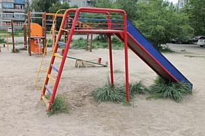 После вмешательства ОНФ в Хакасии в селе Белый Яр восстановили детские площадки