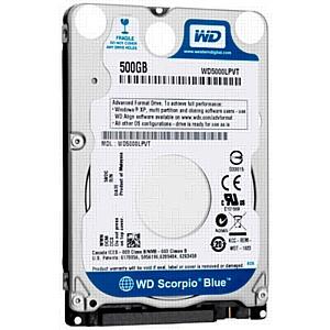 WD начинает поставки жестких дисков для ультрабуков
