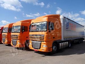 DAF XF105 – выбор крупных транспортных компаний