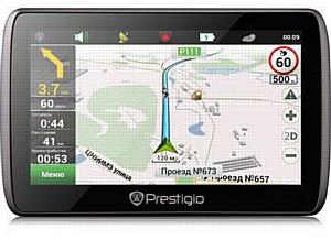 GeoVision 5000 - ультратонкий навигатор от Prestigio